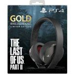 Sony PS4 Limited Edition The Last of Us Part II GOLD Wireless 7.1 headset